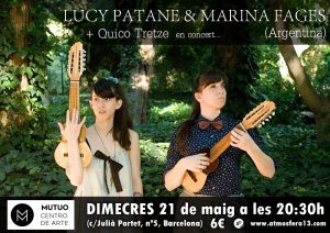 2014-05-21 - Lucy Patane & Marina Fages i Quico Tretze Mutuo
